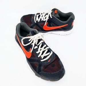 Nike Kids Dual Fusion TR 3 Black Orange Size 6y